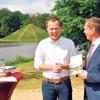Cottbus: Festakt in Branitz