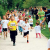Athleten rennen am 30.4. durch die Innenstadt