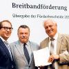 Breitbandversorgung: Löchersuche kann jetzt beginnen