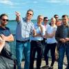 Das Ostsee-Gesicht nimmt  nun erste Gestalt an