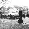 Spremberg. Marktplatz zu Beginn des 20. Jahrhunderts