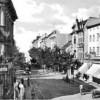 Forst. Luftbild vom Markt um 1920