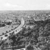 Spremberg. Bahnhofstraße, Blick vom Bismarckturm, um 1930