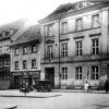 Cottbus. Auf dem Bild entsteht das Neue Rathaus, deren Bau 1934 in einem ersten Abschnitt fertiggestellt wurde