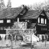 Guben. Bootshaus am Koenig-Park