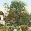 Sommertour-Idylle vor mehr als 100 Jahren zeigte das Stadtschloss von Drebkau, das jetzt restauriert wird