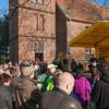 Dorffest-Protest gegen Tagebaupläne