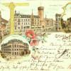 Cottbus: Kartengruß aus alten Zeiten