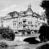 Guben: Jungfernbrücke mit Parkhotel