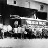 Guben: Wilhelm Wilke mit den Mitarbeitern