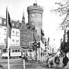 Cottbus: Der Turm war schon mal Litfaßsäule