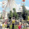Folklore-Trubel zum Stadtfest in Senftenberg