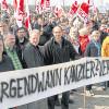 Protest gegen Klimalüge