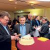 Horst Teuscher feiert