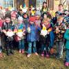 Osterbastel in der  Schwarzheider Grundschule