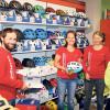 Cottbus: Geschäftsjubiläum auf zwei Rädern