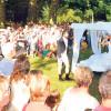 Cb/Sfb: Spielplan im Park, Kabarett am See