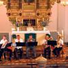 Spremberg: Bläser musizieren in der Kreuzkirche