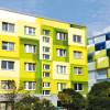 Senftenberg: Fassade mit 3D-Effekt