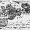 Das Schützenhaus stand in Sandow