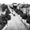 Guben. Bahnhofstraße 1917, heute Berliner Straße