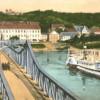 Lausitz: Schiffsverkehr auf der Oder in Crossen