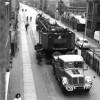 Forst: Zugmaschine zieht Last auf Sorauer Straße