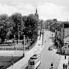 Cottbus:  Blick über die Spreebrücke