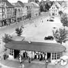 Cottbus: Altmarkt mit Wartehalle
