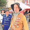 Freiherr gibt sich die Ehre auf dem Spremberger Heimatfest
