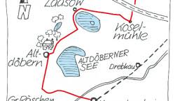 Lausitz-Touren: Heinekens Bilderschloss in Petzolds Garten