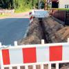Neue Baustelle in Forst eröffnet