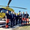 Senftenberg: Neuer Hubschrauber im Einsatz