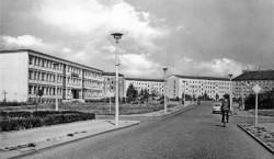 Altes Senftenberg: Die Straße des Bergmanns in Senftenberg