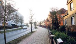 Guben: Geschäftige Straße bietet auch Sport und Kultur