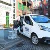 Lausitzer Heimatzeitung testet E-Transporter im Zeitungsvertrieb