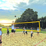 Volleyball in Burg