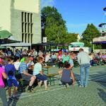 Party am Wasserturm in Schwarzheide am 8. September 2018