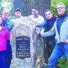 Forster Sänger-Eichen-Gedenkstein steht wieder