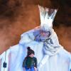 Schneekönigin im Piccolo