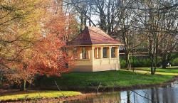 Bilder aus dem alten Senftenberg: Steindamm am Senftenberger Stadtpark