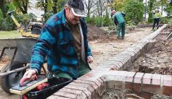 Cottbus: Wegebau mit Sorgfalt