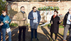 Welzower Pflegehaus feiert Richtfest