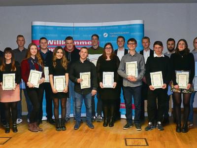Cottbus: Ausbilder und Schüler-Ehrung der Besten