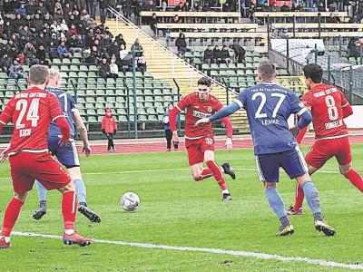 Auswärtssieg für FC Energie Cottbus