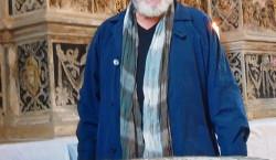 Lieberose: Becker liest bei seinem Taufstein