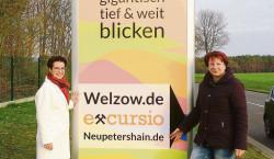 Welzow: Werbung für Region