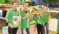 Cottbus: Neues Jahr beim Fressnapf