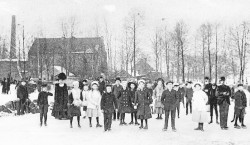 Damals wars: Vom Eislaufen an der Steinteichmühle