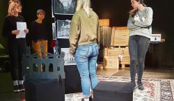 Senftenberg: Uraufführung: Liebe Grüße aus Lemberg